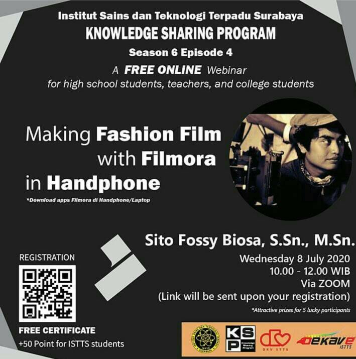 KSP SEASON 6 EPS 4 : Making Fashion Film with Filmora in Handphone