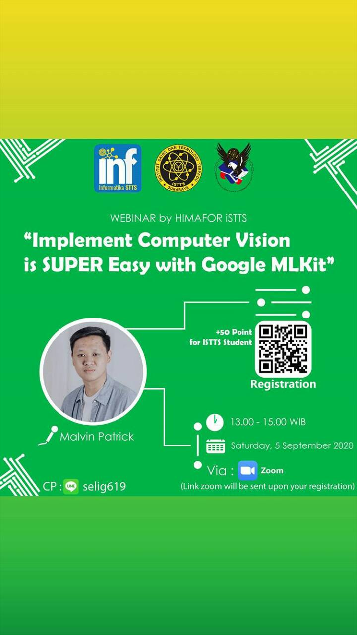 IMPLEMENT COMPUTER VISION IS SUPER EASY WITH GOOGLE MLKIT