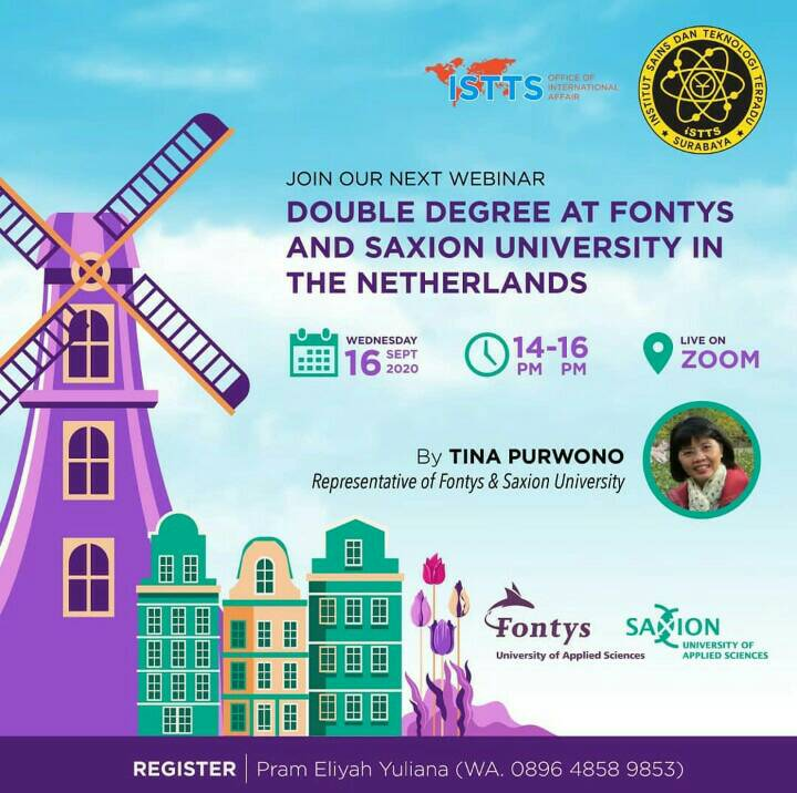 DOUBLE DEGREE AT FONTYS AND SAXION UNIVERSITY IN THE NETHERLANDS