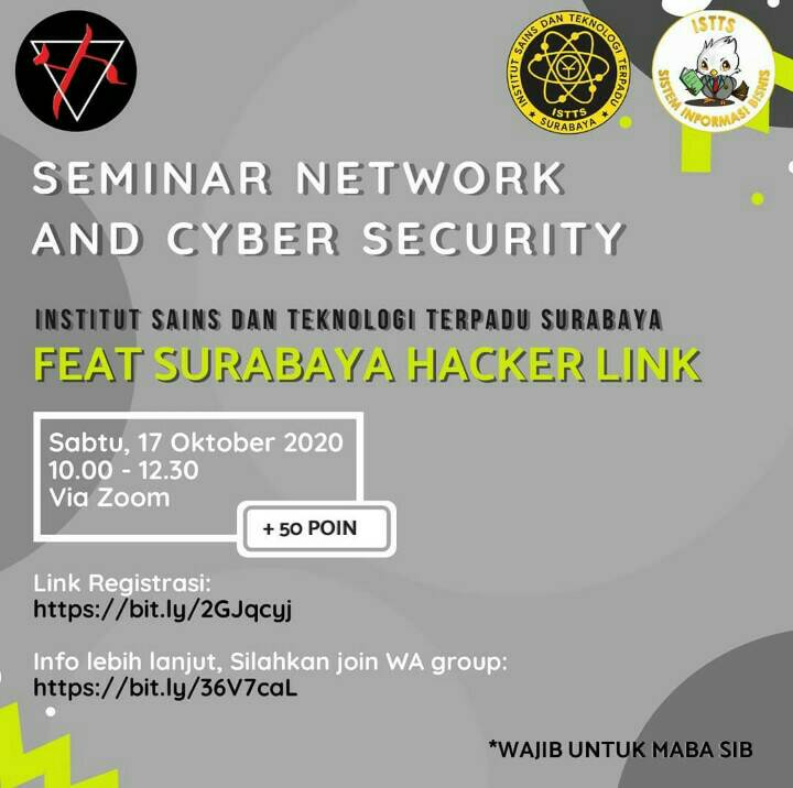 SEMINAR NETWORK AND CYBER SECURITY